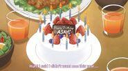 Asahi Birthday Cake