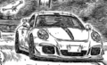 Porsche991GT3 FrontView
