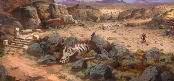 Desert concept art by mikrob-d8cv664.jpg