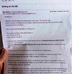 "Eyewitness report from the ""Songa Mercur"" oil platform"