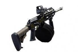 Abomination, sans grenade launcher and bayonet...