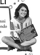 Mia with her book promo photo