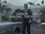 Honor Among Thieves?