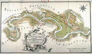 Der Stadt Oderberg und Die Oder Fluss