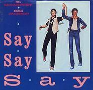 Say Say Say (album cover art)