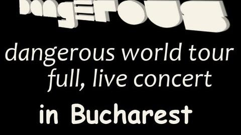 Michael Jackson's Dangerous World Tour│Live in Bucharest Full HD
