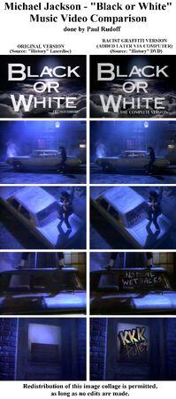 Music video comparison