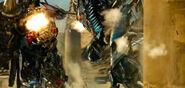 Jetfire and Optimus Prime Weapon's Large Mini-Gun
