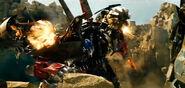 Jetfire and Optimus Prime Combined Weapon's Jet Blast