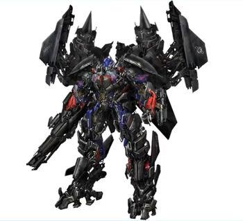 Jetfire and Optimus Prime Combine