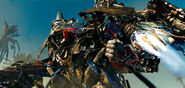 Jetfire and Optimus Prime Flight