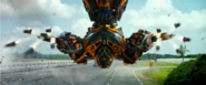 Bumblebee's Multi Missile Launcher AOE
