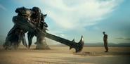 Megatron Axe Sword TLK