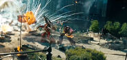 Optimus Weapon's Energon Axe