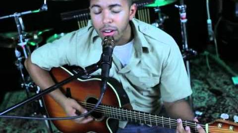 """Trevor Andrew Atkinson of The Juno Blacklist performing """"The Stone"""" by Dave Matthews Band"""