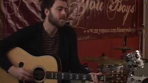 """Christopher Andrus of Bless You Boys and Middlefield covers Jeff Buckley's """"Hallelujah"""""""