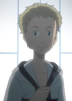 A teenaged Hatchin as she appears in the epilogue.