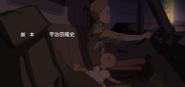 Hana's son sleeping