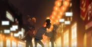EP17 Michiko scolds Hatchin