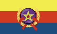Bandera oficial república científica de Kuadaristán-byrd