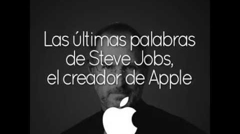 Las últimas palabras de Steve Jobs antes de partir.