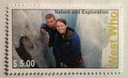 West Who Stamp New Zealand