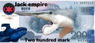 Jack empire 200 mark
