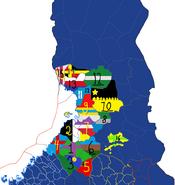 Torlannin kartta suomen alueelta zuumattuna