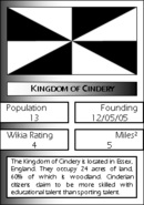 Kingdom of Cindery