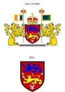 Princian coatofarms and seal