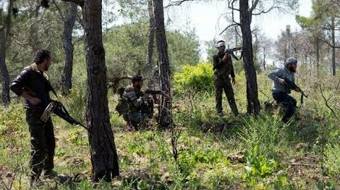 Heavy Fighting During The Battle On The Outskirts Of Al-Maliha Syria War 2014-1404048477