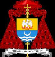 Herb kardynała biskupa Zabieraja
