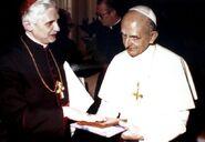 Papież Leon IV kreacja