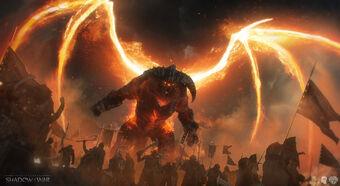 Tar Goroth Middle Earth Shadow Of War Wiki Fandom