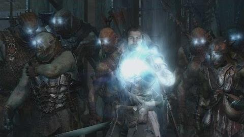Official Shadow of Mordor Gameplay -- Nemesis System Power Struggles