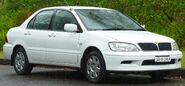 2002-2003 Mitsubishi Lancer (CG) LS sedan (2011-10-25)