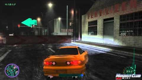 Midnight Club II Héctor Despista a la poli