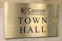 Causton-town-hall-sign