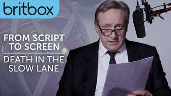 Midsomer Murders Neil Dudgeon Reads A Scene from Death in the Slow Lane BritBox