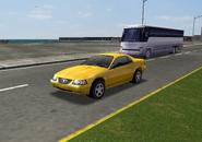 YellowFordMustangGT