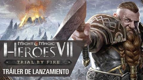 Might & Magic Heroes VII Trial by Fire – Tráiler de Lanzamiento ES