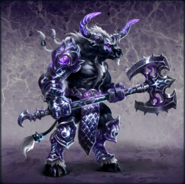 Heroes VI Minotaur Guard Artwork