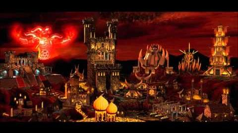 Heroes of Might & Magic III Inferno Town Theme (1998 NWC) Animated