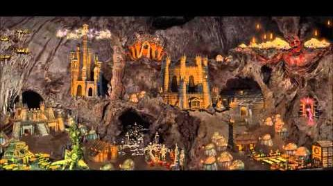 Heroes of Might & Magic III Dungeon Town Theme (1998 NWC) Animated