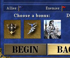 Starting bonus