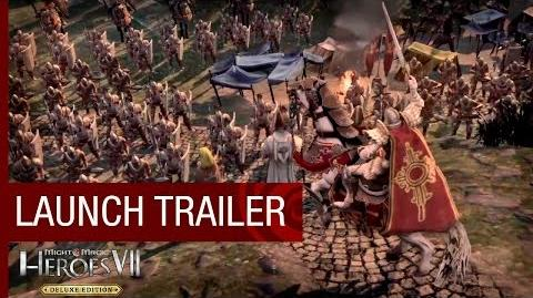 Might & Magic Heroes VII - Launch Trailer -US-