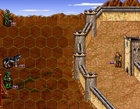Siege combat
