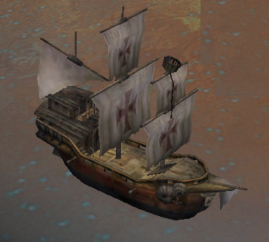 Weatherbeaten Galleon