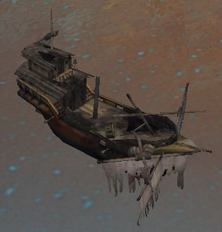 Wrecked Galleon