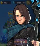 Human Sandro Elemental Guardians